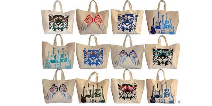 Les sacs en toile Barockine's font un carton !