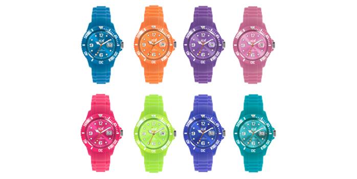 Les montres Ice Watch nous réchauffent cet été