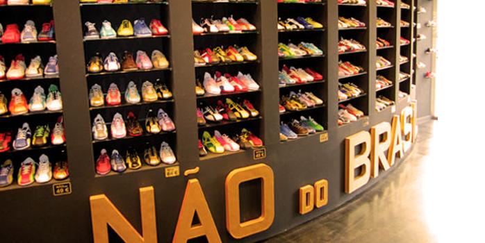 Des chaussures Nao en direct du Brasil