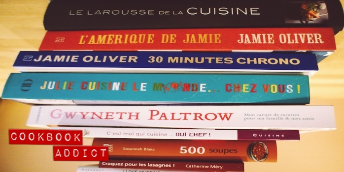 Livres de cuisine addict !
