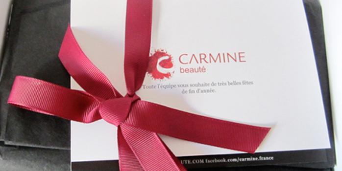 Carmine finit l'année en beauté