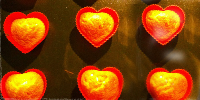 Coeurs de Madeleine à la fleur d'oranger