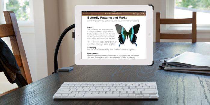Gogo gadget iPad au bras ajustable