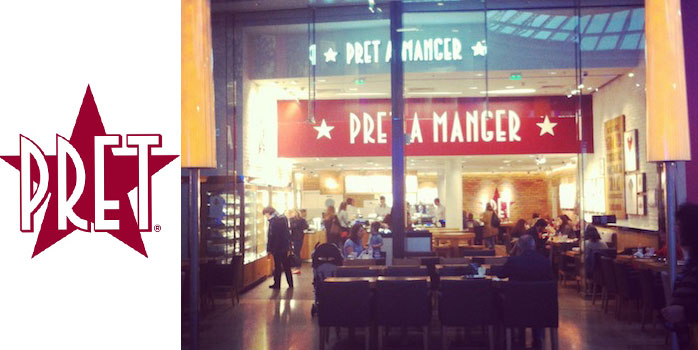 Pret A Manger, Oh so British !
