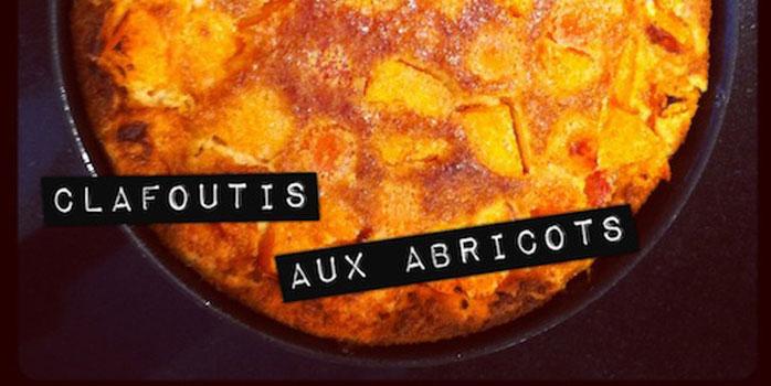 Clafloutis aux abricots