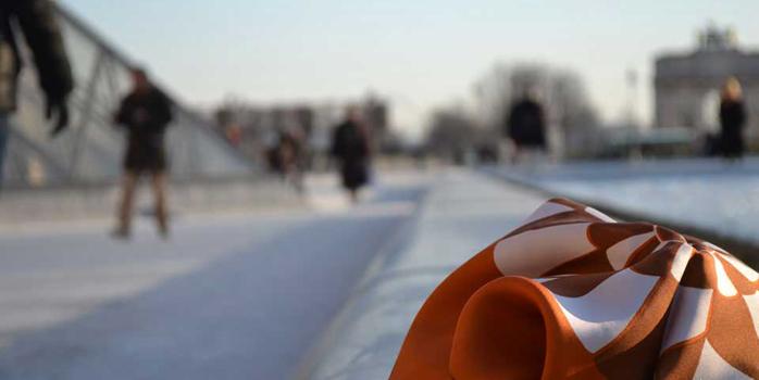 Un foulard Iris & Boreas : CA-DEAU !