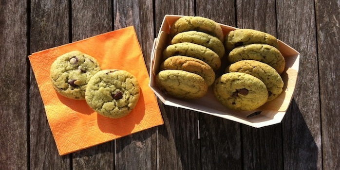 Super Green Cookies