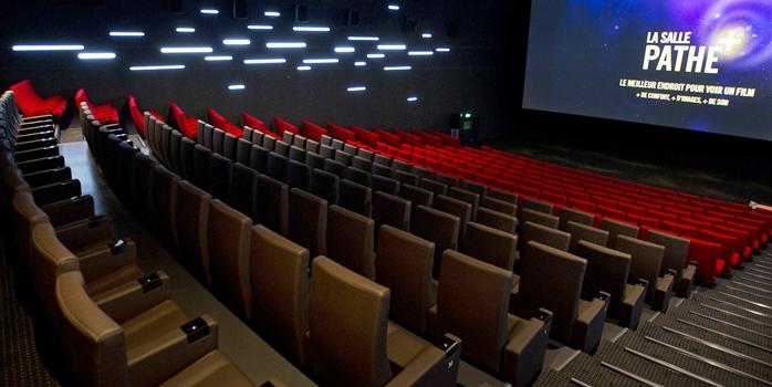 Les fauteuils de cinéma première classe