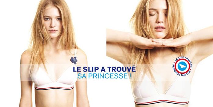 Princesse Tam Tam et le Slip Français