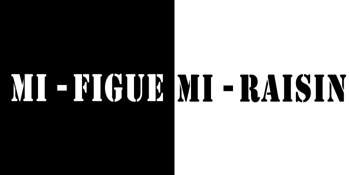 Mi-figue, mi-raisin
