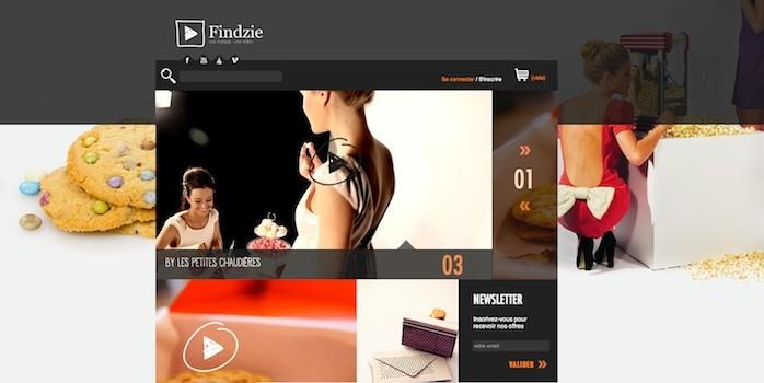 Findzie, une marque une vidéo