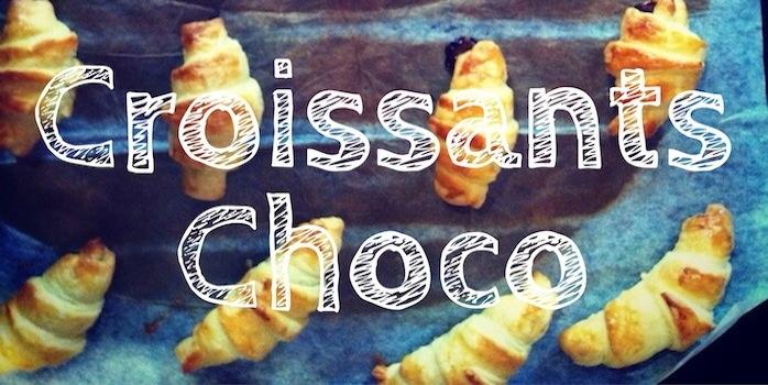Petits croissants au chocolat