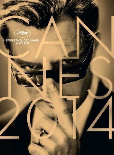 Affiche festival de Cannes 2014 Marcello Mastroianni