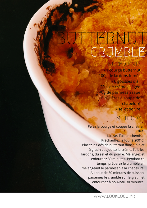 butternut crumble-top