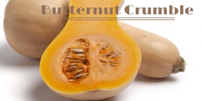 Butternut Crumble