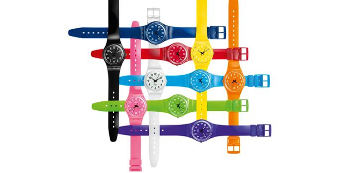La montre Swatch met de la couleur dans votre vie !