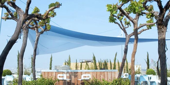 La terrasse du Printemps Haussmann Déli-cieux !