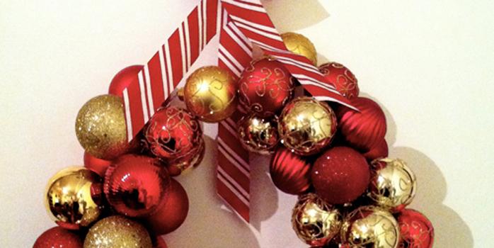 Déco de Noël ou comment fabriquer sa couronne de Noël ?