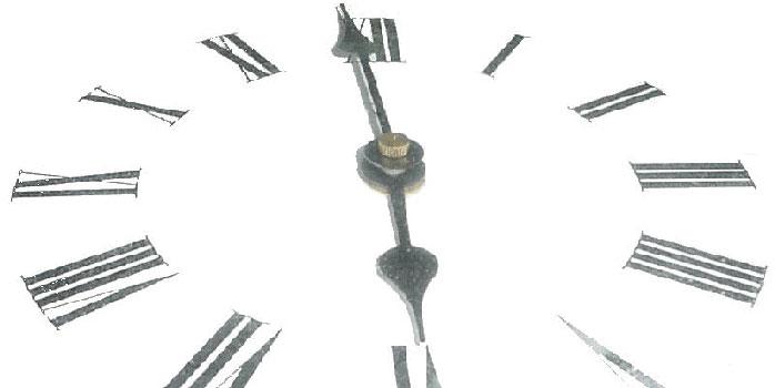 Changement d'heure le 25 mars 2012