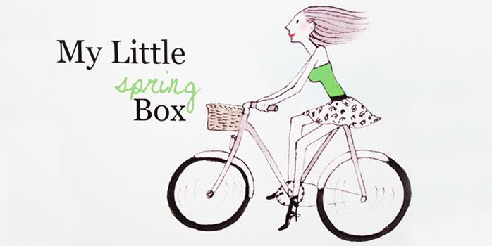 My Little Spring Box fête l'arrivée du printemps dignement