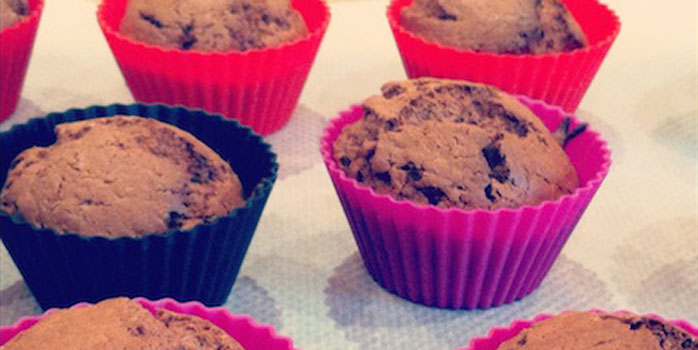 Muffins à la farine de châtaigne