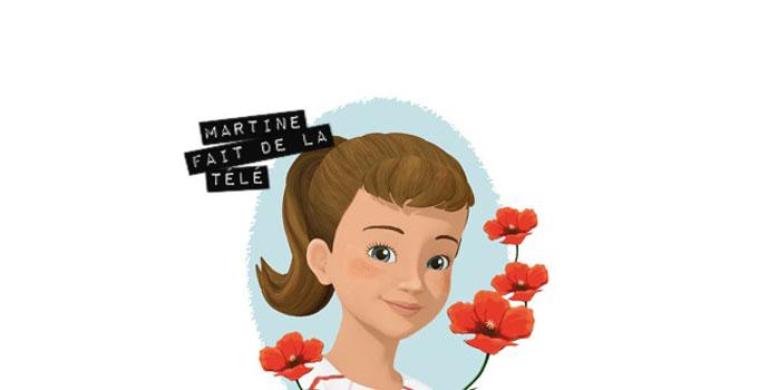 Martine fait de la télé