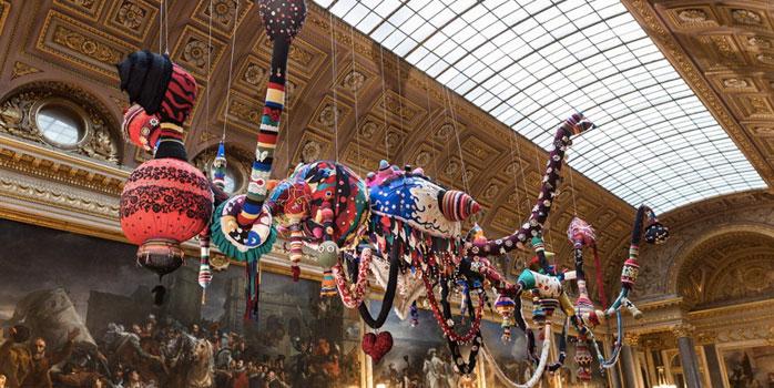 L'art contemporain s'invite à Versailles