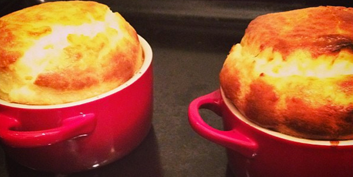 Soufflé au fromage tradi VS. Thermomix