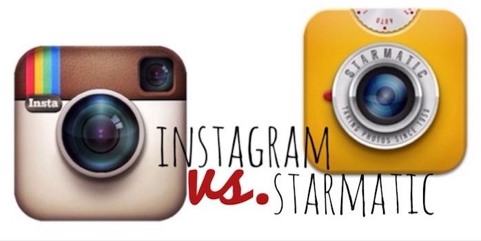 Instagram vs Starmatic