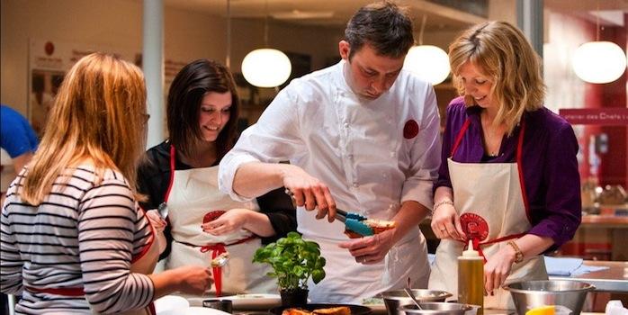 La folie des cours de cuisine