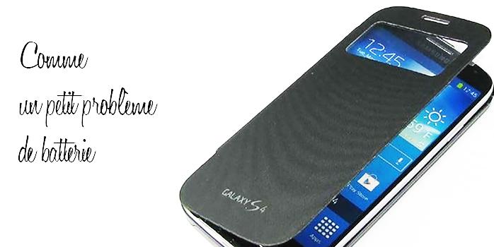 Samsung S4 ou la batterie gonflée