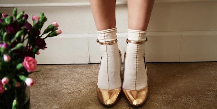 Les chaussettes à la fête